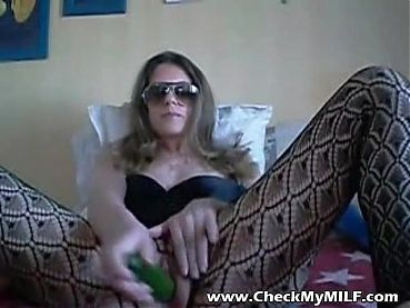 Check My MILF Hot wife in crotchless fishnet bodystockings