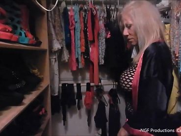 Tour nasty Sofia's closet