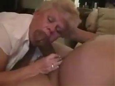 Grandma blowjob