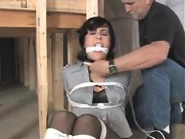 Gigi and Dixie bound and gagged