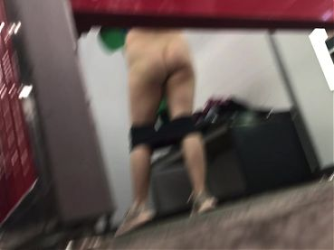 Spying on dressing room #2 NO PANTIES