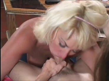 Slutty whore Dana Hayes sucking cocks