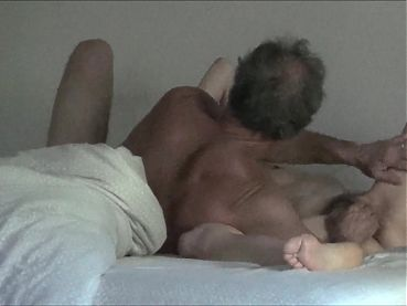 Hairy amateur senior couple 69 and fuck