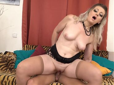 Taboo sex with lovely mother and son