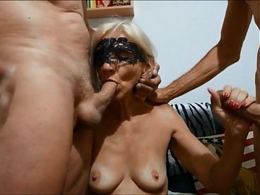 With 2 cocks in mouth