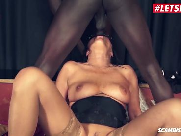 LETSDOEIT - New Gangbang Party with Mature Italian Wife